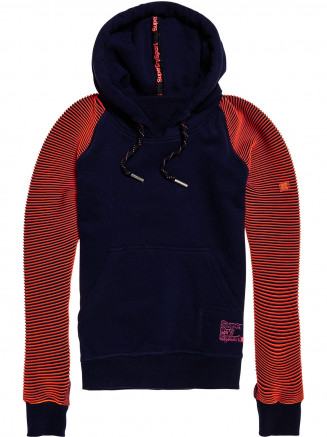 Womens Flex Hoody Blue