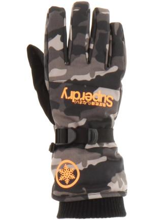 Mens Ultimate Snow Service Glove Black