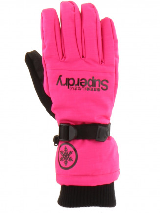 Womens Ultimate Snow Service Glove Pink