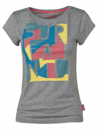 Womens Laguna Tshirt Grey