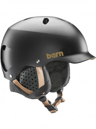 Womens Lenox Eps Helmet With Liner Black