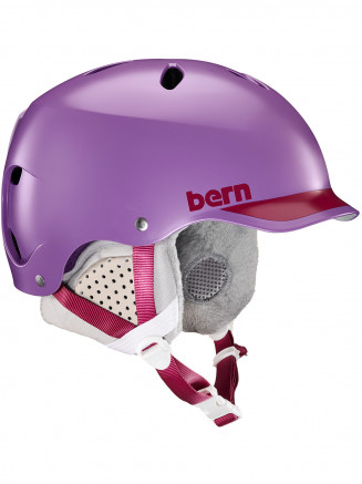 Womens Lenox Eps Helmet With Liner Purple