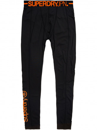 Mens Carbon Baselayer Legging Black