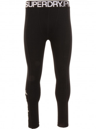 Mens Merino Base Layer Legging Black