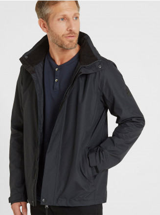 Mens Mawson Waterproof Jacket Black