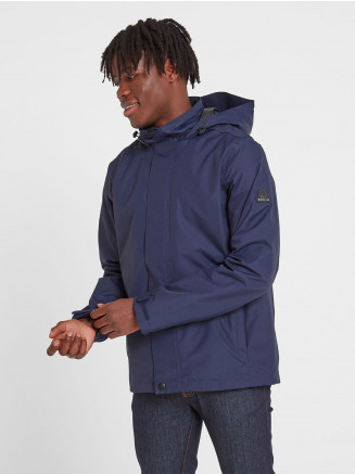 Mens Mawson Waterproof Jacket Blue