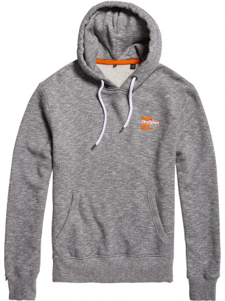 Mens Windtrainer Hood Grey