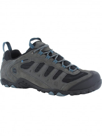 Mens Hi-tec Penrith Low Wp Grey