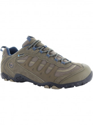 Mens Hi-tec Penrith Low Wp Brown