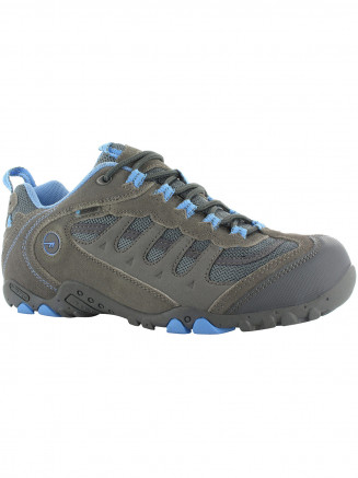 Womens Hi-tec Penrith Low Wp Grey