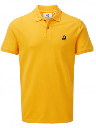 Mens Percy Polo Shirt Yellow