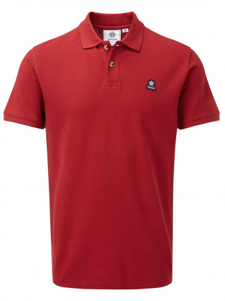 Mens Percy Polo Shirt Red
