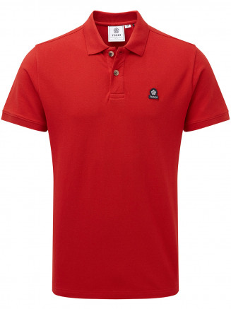 Mens Percy Polo Red