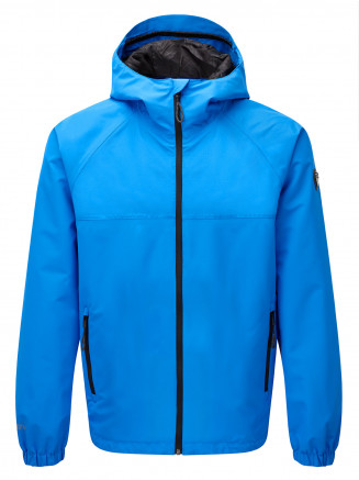 Mens Rampart Performance Shell Jacket Blue