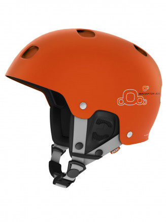 Adults Receptor Bug Helmet Orange