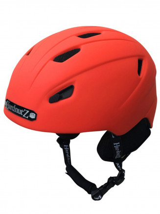 In-Mould Ski & Snowboard Helmet Red