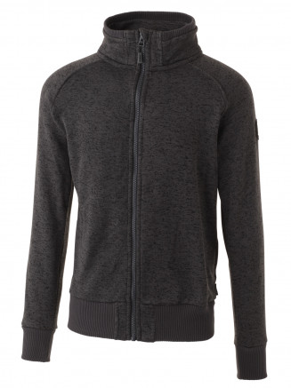 Mens Saint Full Zip Fleece Grey