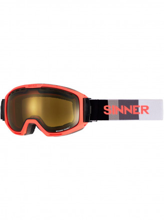Mens Womens Mohawk Goggles Orange