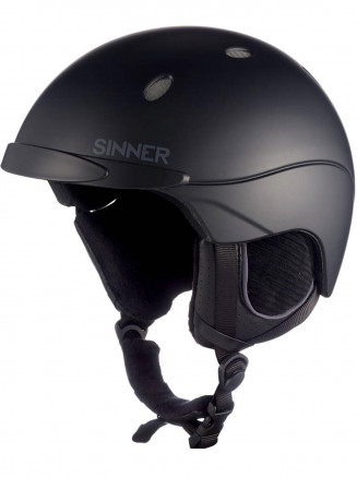 4419760c5ac Sinner Mens Womens Titan Helmet Black