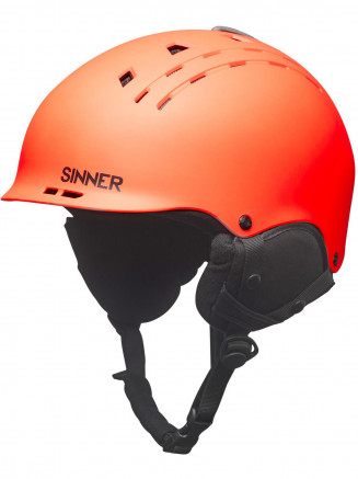 Mens Womens Pincher Helmet Orange