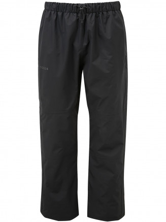 Mens Steward Waterproof Trousers Short Black
