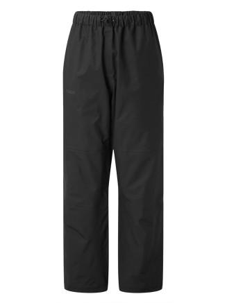 Womens Steward Waterproof Trousers Short Black