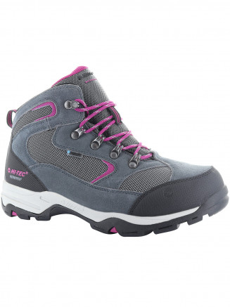 Womens Hi-tec Storm Wp Grey