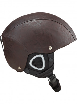 Mens Crinkle Helmet Brown