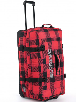 Mens Maxim Roller Bag Red