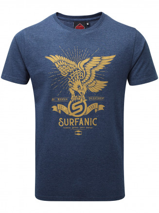 Mens Eagle T -shirt Blue