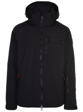 Mens Missile Surftex Ski Jacket Black - 3XL-6XL