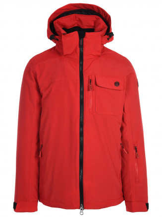 Mens Missile Surftex Ski Jacket Red