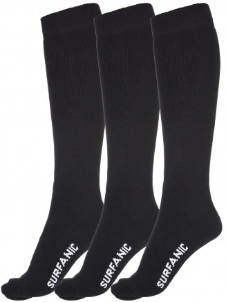 Mens Pro Tech Core 3 Pack Sock Black
