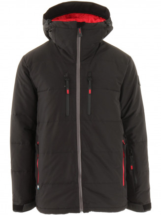 Mens Edge Hypadri Down Jacket Black