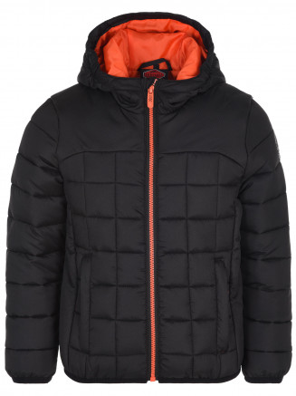 Boys Trigger Padded Jacket Black