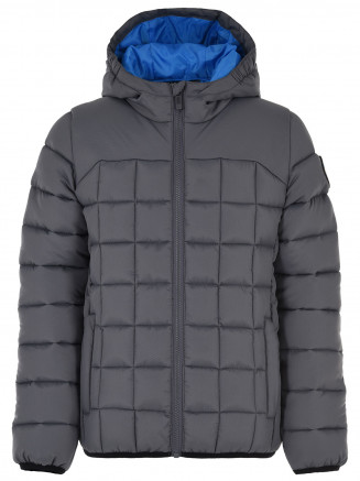 Boys Trigger Padded Jacket Grey