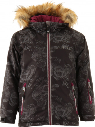 Girls Shores Surftex Jacket Black