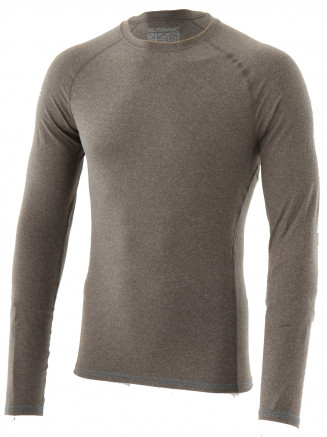 Mens Jonah Crew Neck Baselayer Grey