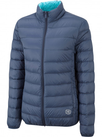 Womens Pure Down Jacket Blue