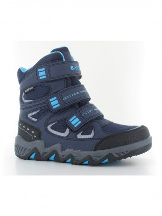 Kids Hi-tec Thunder Wp Jr Blue