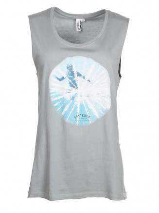 Womens Vortex Tank Tee Blue