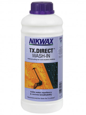 Mens Womens Tx Direct Wash-in Black